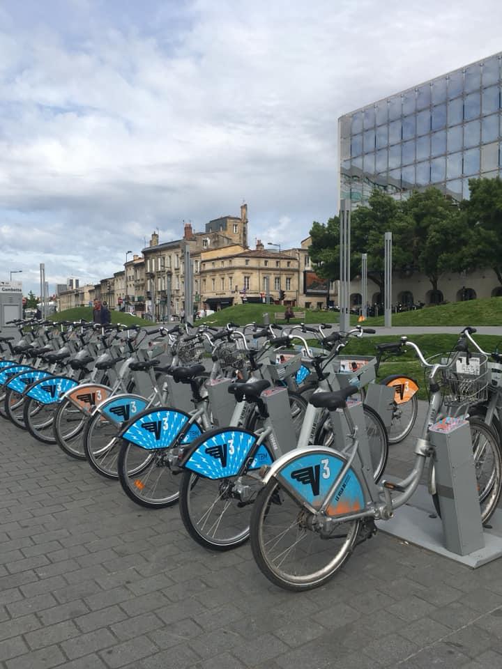 אופניים בבורדו